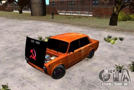 VAZ 2101 Vagabundo para GTA 4 traseira esquerda vista