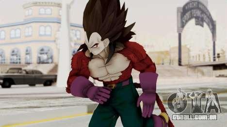 Dragon Ball Xenoverse Vegeta SSj4 para GTA San Andreas