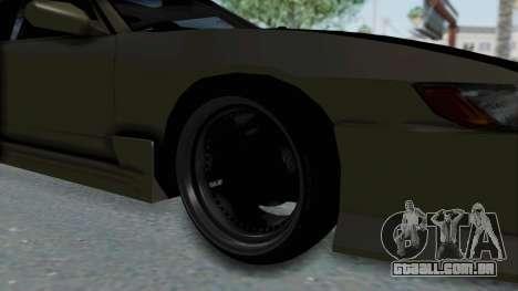 Nissan Sileighty TOD para GTA San Andreas vista traseira