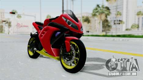 Kawasaki Ninja 250FI Anak Jalanan para GTA San Andreas