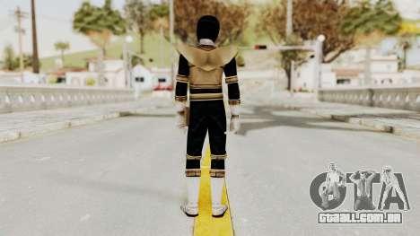 Power Ranger Zeo - Gold para GTA San Andreas terceira tela
