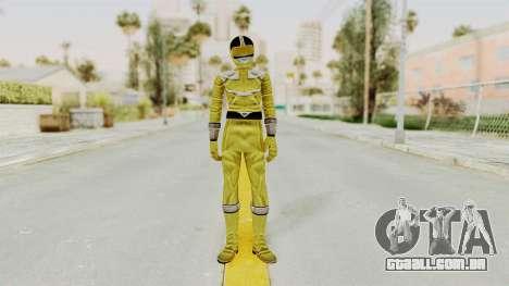 Power Rangers Time Force - Yellow para GTA San Andreas segunda tela
