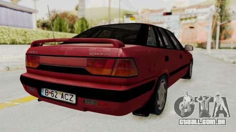 Daewoo Espero 1.5 GLX 1996 v2 Final para GTA San Andreas vista direita