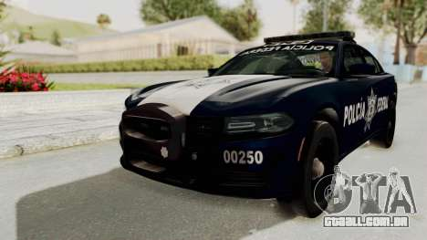 Dodge Charger RT 2016 Federal Police para GTA San Andreas