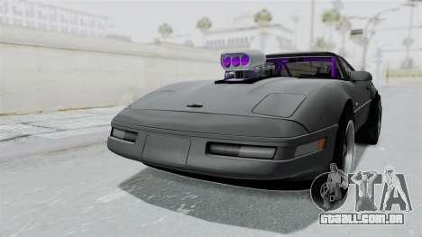 Chevrolet Corvette C4 Drag para GTA San Andreas