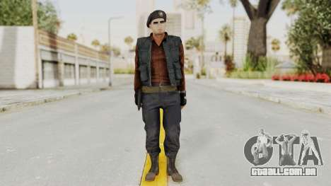 MGSV Phantom Pain Rogue Coyote Commander para GTA San Andreas segunda tela