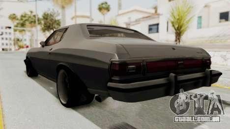 Ford Gran Torino 1975 Special Edition para GTA San Andreas esquerda vista