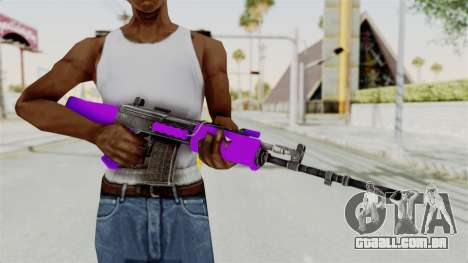 IOFB INSAS Violet para GTA San Andreas terceira tela