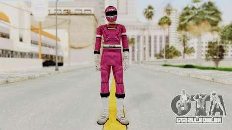 Power Rangers Turbo - Pink para GTA San Andreas segunda tela