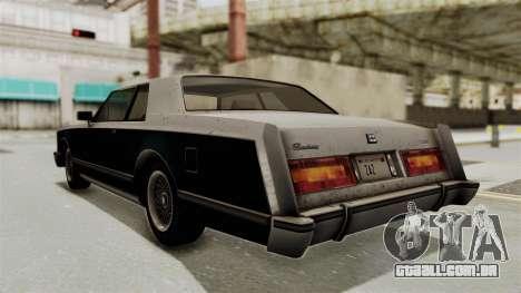 GTA 5 Dundreary Virgo SA Style para GTA San Andreas esquerda vista