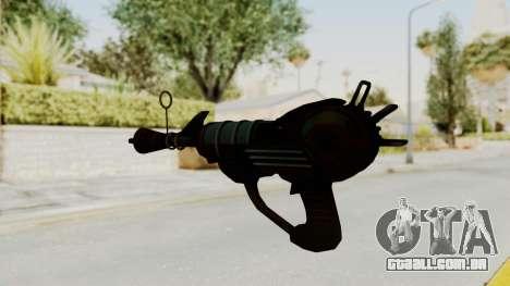 Ray Gun from CoD World at War para GTA San Andreas segunda tela