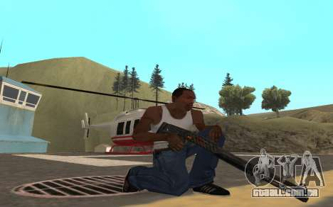 Redline weapon pack para GTA San Andreas sexta tela