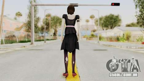 Madoka Tsukimori (Goth Version) para GTA San Andreas terceira tela