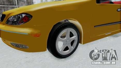 Nissan Maxima Spyder para GTA San Andreas vista traseira