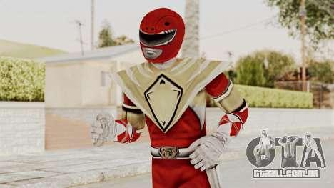 Mighty Morphin Power Rangers - Red Armor para GTA San Andreas