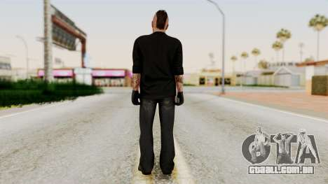 GTA 5 Tattooist v1 para GTA San Andreas terceira tela