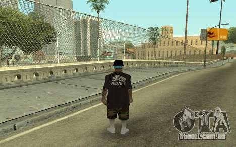 Varios Los Aztecas Gang Member para GTA San Andreas segunda tela