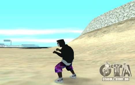 Ballas Gang Member para GTA San Andreas terceira tela