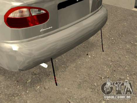 Daewoo Lanos (Sens) 2004 v2.0 by Greedy para GTA San Andreas vista interior
