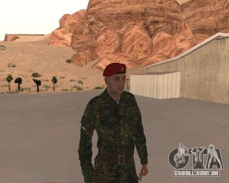 Pak Militar Russo para GTA San Andreas sexta tela