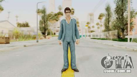 Scarface Tony Montana Suit v3 with Glasses para GTA San Andreas segunda tela