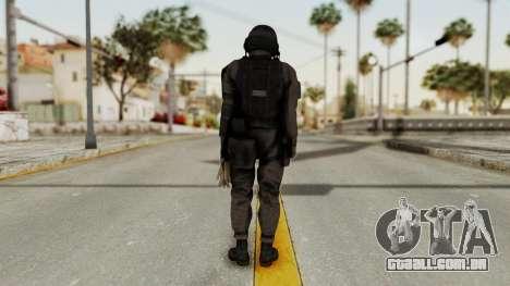 MGSV Phantom Pain Cipher XOF Afghanistan No Mask para GTA San Andreas terceira tela