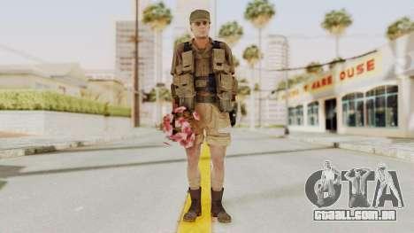 MGSV Phantom Pain CFA Combat Vest 2 v2 para GTA San Andreas segunda tela