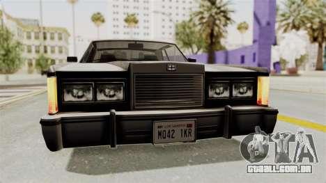 GTA 5 Dundreary Virgo SA Style para vista lateral GTA San Andreas