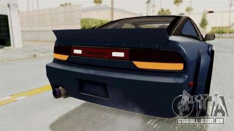 Nissan Silvia Sil80 para GTA San Andreas interior