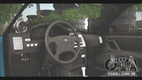 VAZ 21123 para GTA San Andreas vista traseira