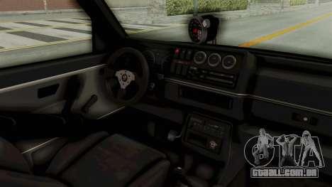 Volkswagen Jetta 2 para GTA San Andreas vista interior