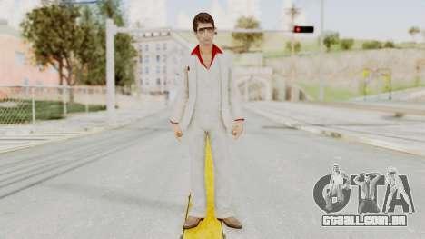 Scarface Tony Montana Suit v4 with Glasses para GTA San Andreas segunda tela