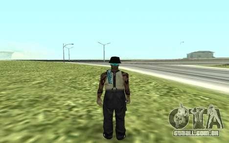 San Fierro Rifa Member para GTA San Andreas segunda tela