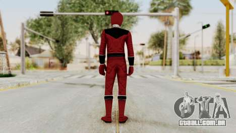 Power Rangers Time Force - Quantium para GTA San Andreas terceira tela