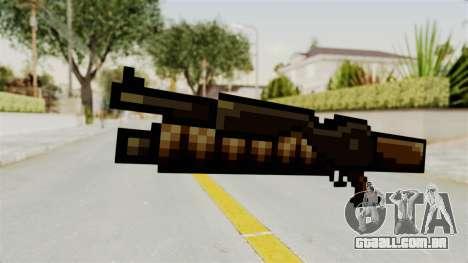 Heavy Machinegun from Metal Slug para GTA San Andreas