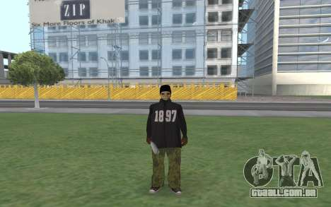 Novo Ballas 3 para GTA San Andreas