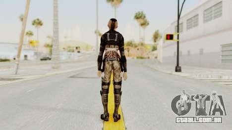 Mass Effect 3 Jack para GTA San Andreas terceira tela