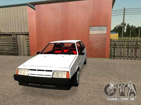 VAZ 2108 Stock by Greedy para GTA San Andreas