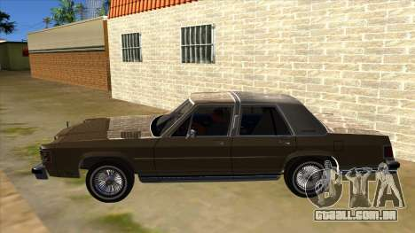 Mercury Grand Marquis 1986 v1.0 para GTA San Andreas esquerda vista