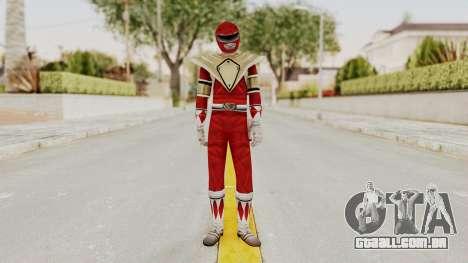 Mighty Morphin Power Rangers - Red Armor para GTA San Andreas segunda tela