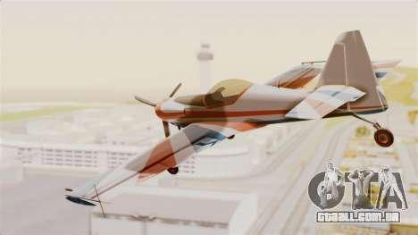 Zlin Z-50 LS v4 para GTA San Andreas vista direita