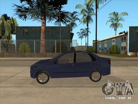 Datsun on-DO para GTA San Andreas traseira esquerda vista