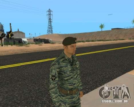 Pak Militar Russo para GTA San Andreas décimo tela