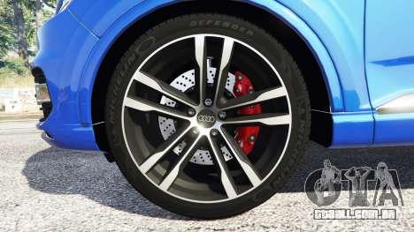 GTA 5 Audi Q7 2015 [rims2] volante