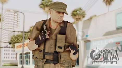 MGSV Phantom Pain CFA Combat Vest 2 v2 para GTA San Andreas