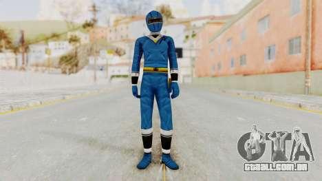 Alien Rangers - Blue para GTA San Andreas segunda tela