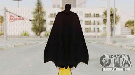 Batman vs. Superman - Batman para GTA San Andreas terceira tela