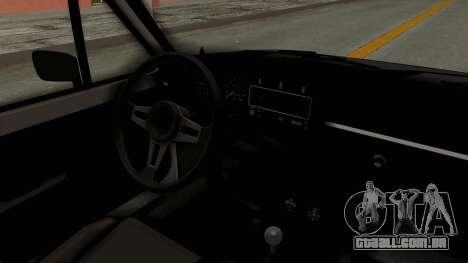 Volkswagen Golf 1 para GTA San Andreas vista interior