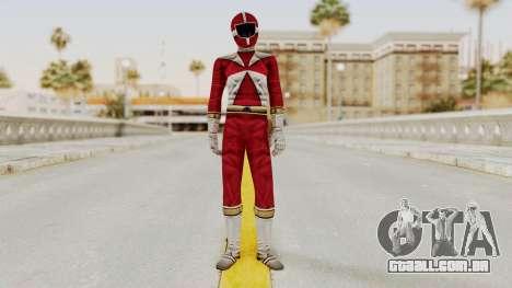 Power Rangers Lightspeed Rescue - Red para GTA San Andreas segunda tela