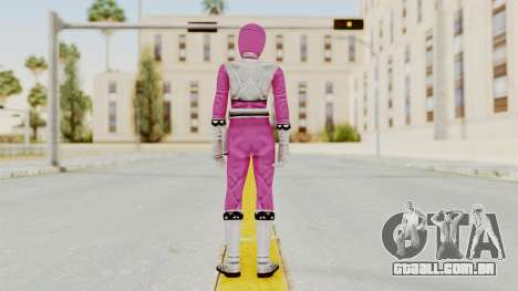 Power Rangers Lost Galaxy - Pink para GTA San Andreas terceira tela